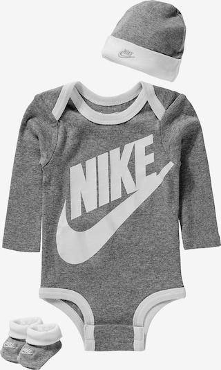 Nike Sportswear Set 'Futura' in grau / weiß, Produktansicht