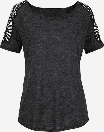 VIVANCE Shirts in anthrazit / naturweiß, Produktansicht