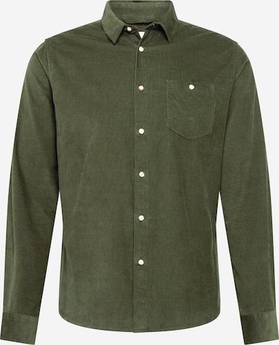 KnowledgeCotton Apparel Shirt in dark green, Item view