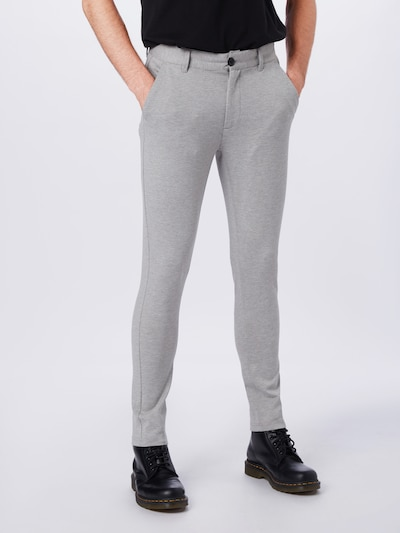 Denim Project Hose 'Ponte Roma Plain' in grau, Modelansicht