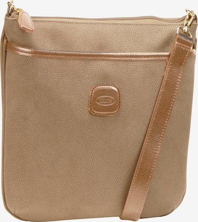 Bric's Schoudertas in de kleur Camel, Productweergave