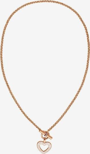 TOMMY HILFIGER Verižica 'Classic Signature' | rožnato zlata barva, Prikaz izdelka
