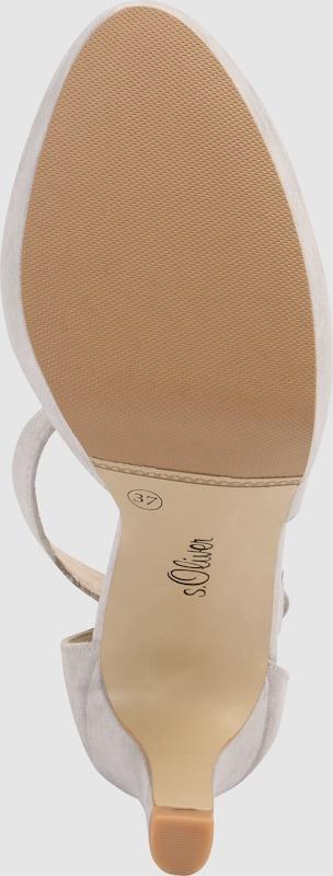 s.Oliver RED LABEL getragene | Slingpumps in Veloursleder-Optik Schuhe Gut getragene LABEL Schuhe 3d648b
