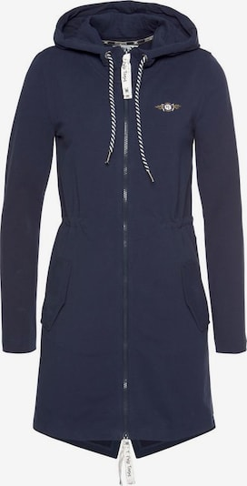 Tom Tailor Polo Team Sweatjacke in navy, Produktansicht