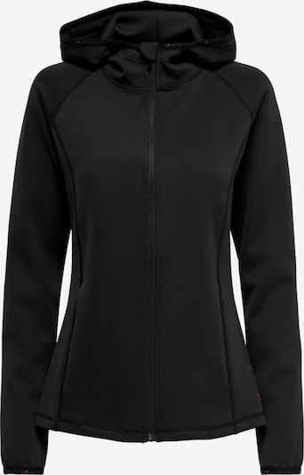 ONLY PLAY Sports sweat jacket 'Cara' in Black, Item view