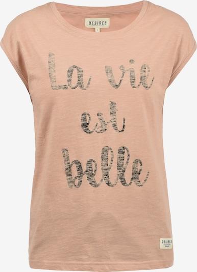 Desires T-Shirt 'Lykke' in rosa, Produktansicht