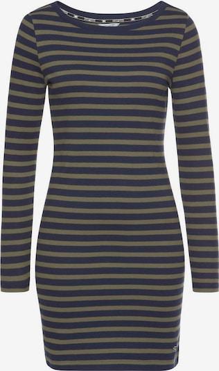 Tom Tailor Polo Team Kleid in marine / khaki, Produktansicht