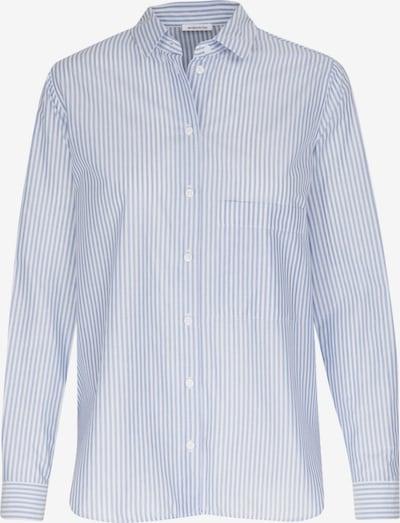 SEIDENSTICKER Bluse in opal / weiß, Produktansicht