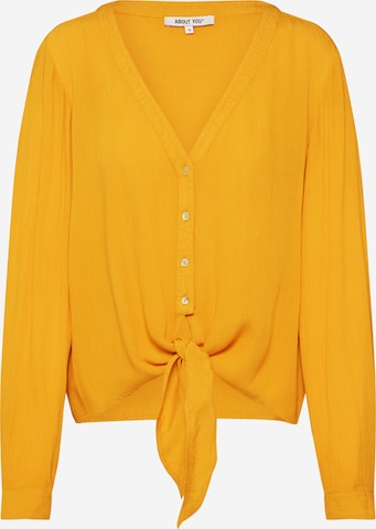 ABOUT YOU Blouse 'Dylane' in Yellow