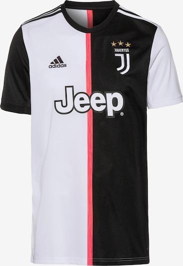 ADIDAS PERFORMANCE Maillot 'Juventus Turin' en corail / noir / blanc, Vue avec produit