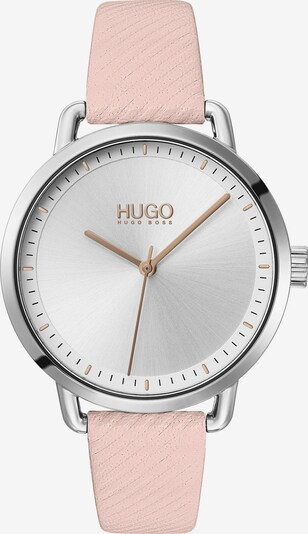 "HUGO Analog Quarz "" Damen-Uhr"" in rosa, Produktansicht"
