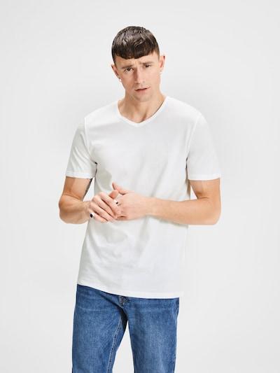 JACK & JONES T-Shirt in weiß: Frontalansicht
