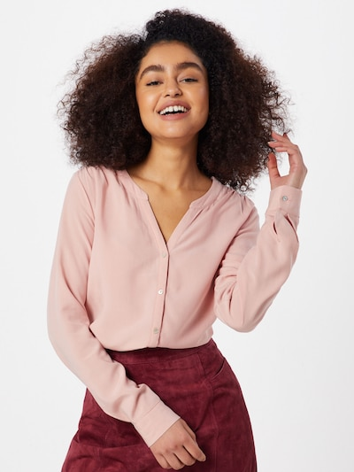 ONLY Bluse 'SUGAR FALLOW SHIRT' in rosa, Modelansicht