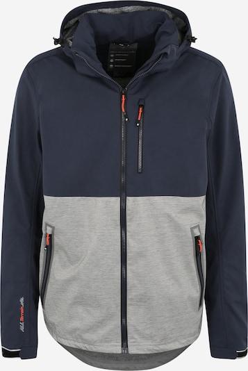 KILLTEC Sportovní bunda 'Nilon' - námořnická modř / šedá, Produkt