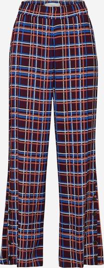 Pantaloni 'POSMATHILDE' POSTYR pe albastru / roșu, Vizualizare produs