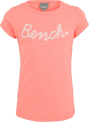 BENCH T-Shirt in Melange-Optik