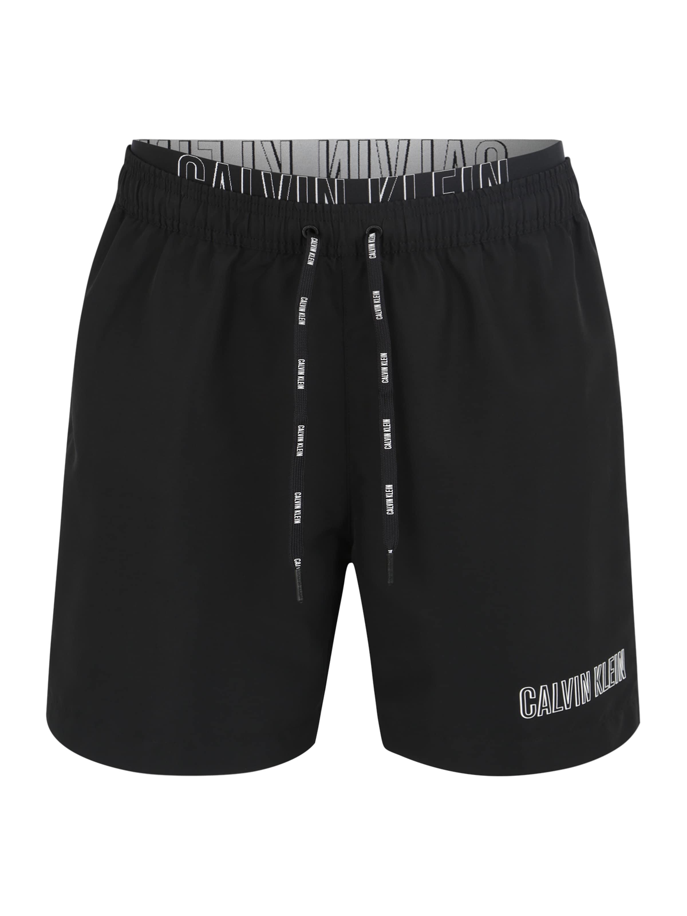 Swimwear Waistband' Double Bademode Klein Schwarz 'medium Calvin In E2Ye9HWDI