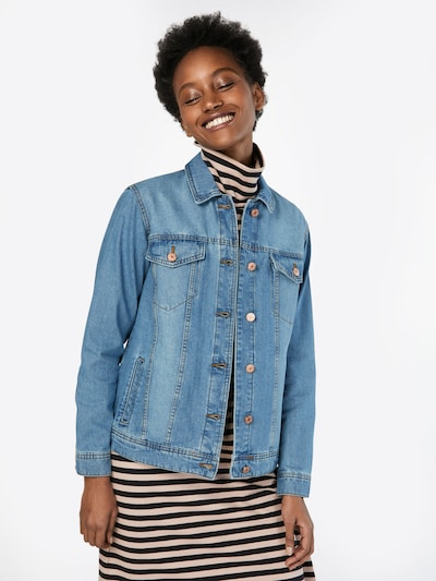 Noisy may Jeansjacke in blue denim: Frontalansicht