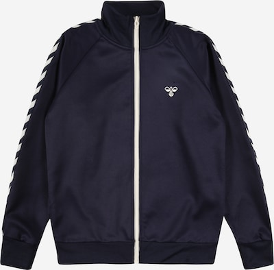 Hummel Jacke in dunkelblau / weiß, Produktansicht