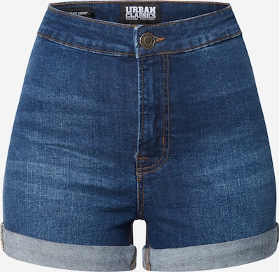 Urban Classics Shorts 'Ladies 5 Pocket Slim Fit Denim Shorts' in blue denim, Produktansicht