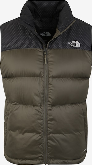 THE NORTH FACE Sportbodywarmer 'Nevero' in de kleur Kaki / Zwart, Productweergave