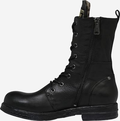 REPLAY Boots 'DUSTER' in beige / dunkelgelb / schwarz / weiß: Seitenansicht