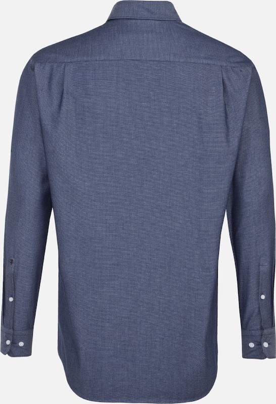 Seidensticker In 'comfort' Overhemd Zakelijk Blauw vNwm8n0O