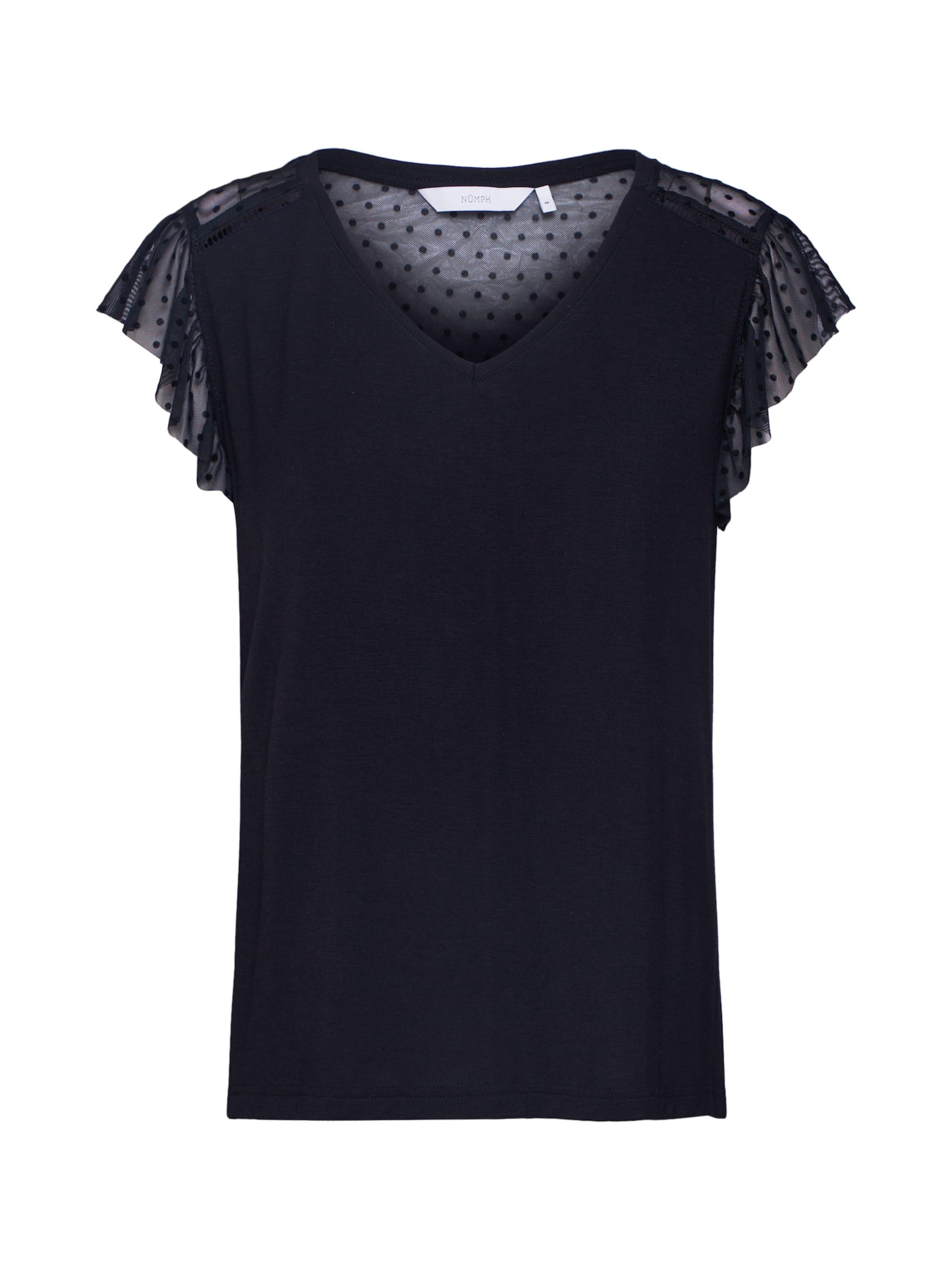 'linden' En shirt T Nümph Noir 3A54LjRq