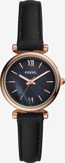 FOSSIL Uhr in gold / schwarz, Produktansicht