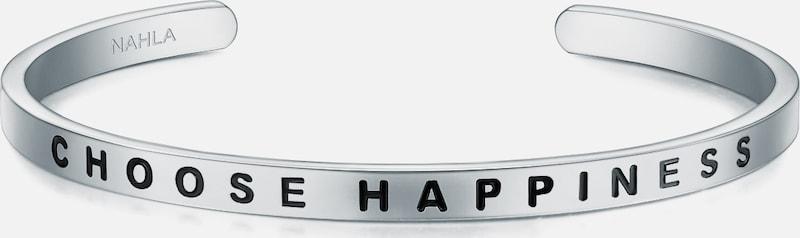 Nahla Jewels Armband mit Schriftzug CHOOSE HAPPINESS
