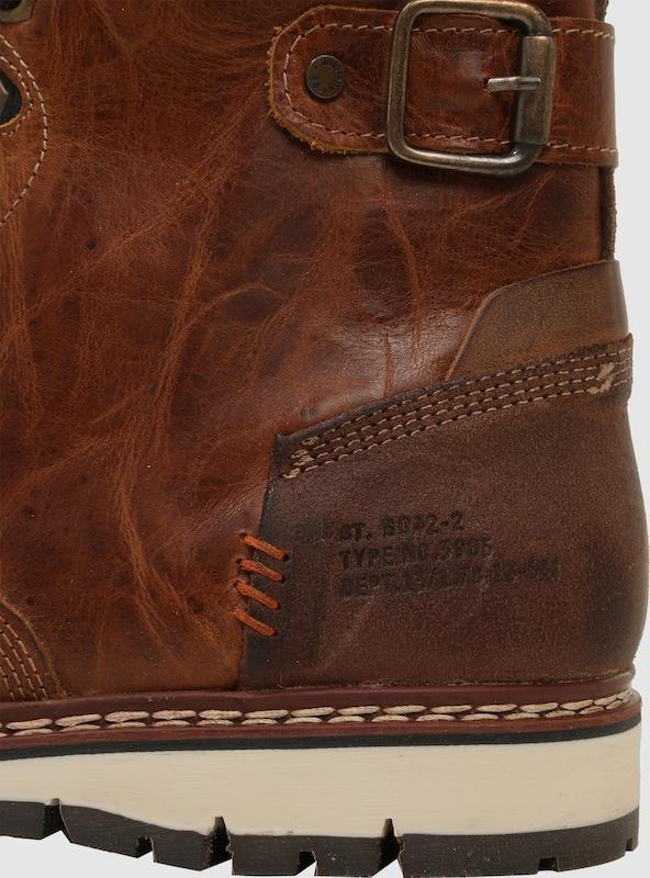 BULLBOXER Stiefel aus echtem Leder Leder Leder b97001