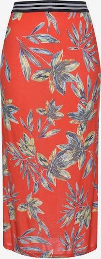 LASCANA Jupe en mélange de couleurs / rouge, Vue avec produit