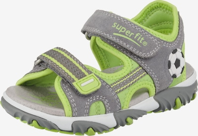 myToys-COLLECTION Sandalen 'MIKE 2' in grau / apfel, Produktansicht