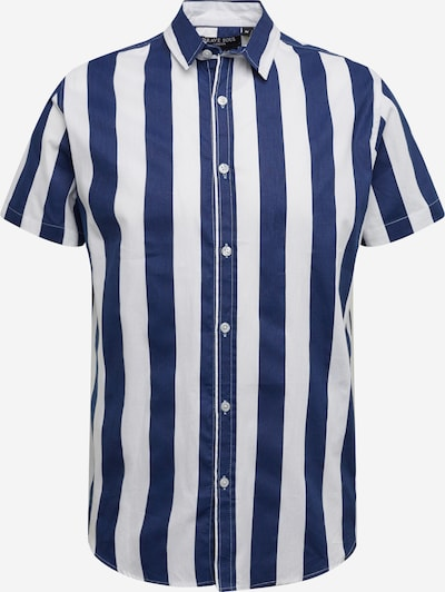 BRAVE SOUL Hemd in navy / weiß, Produktansicht