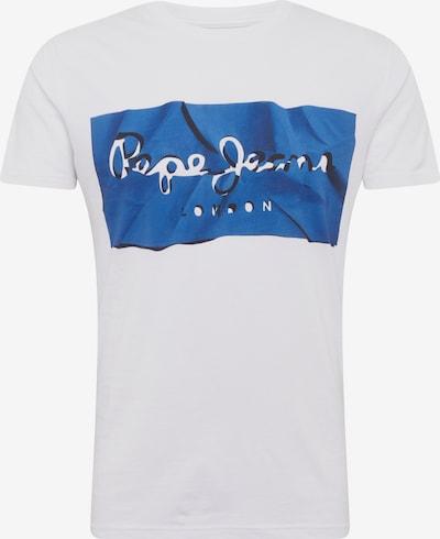 Pepe Jeans Koszulka 'Raury' w kolorze niebieski / białym, Podgląd produktu