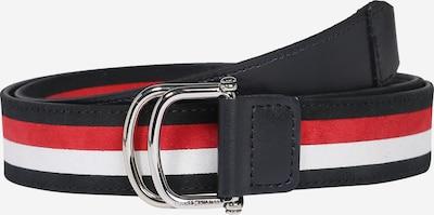 TOMMY HILFIGER Riem in de kleur Donkerblauw / Rood / Wit, Productweergave
