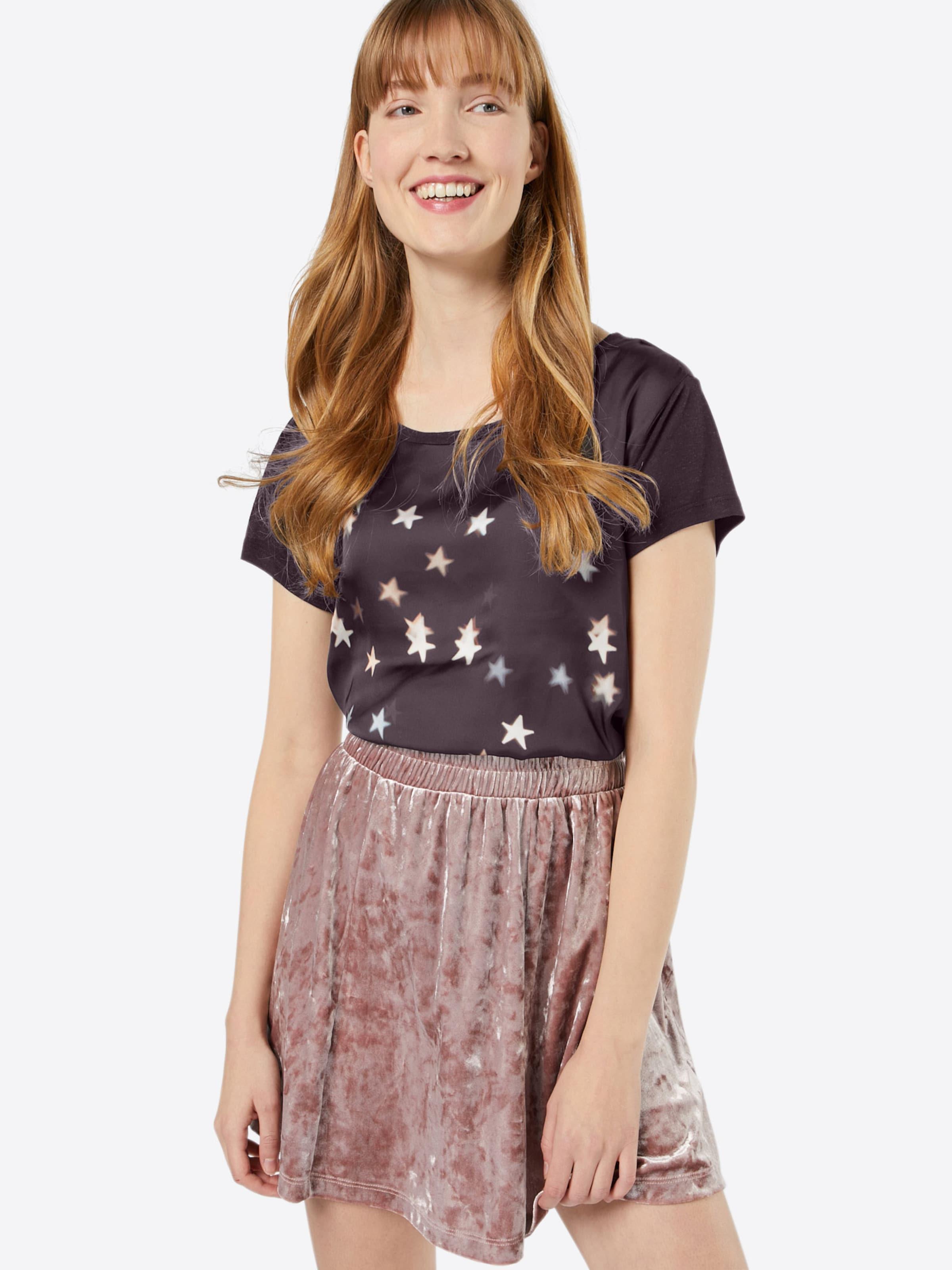 CATWALK Shirt 'SATIN Shirt CATWALK CATWALK 'SATIN T JUNKIE STARS' JUNKIE JUNKIE STARS' T 44qHSx