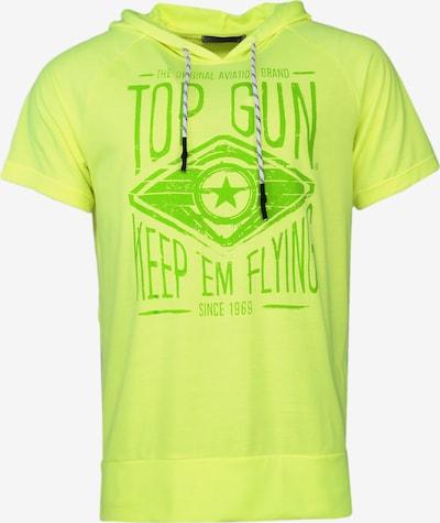TOP GUN Shirt 'Bright' in de kleur Neongeel / Kiwi, Productweergave