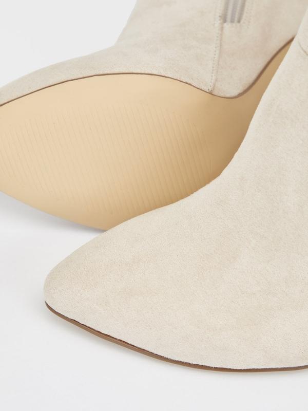 Bianco Klassische Stiletto Stiefel