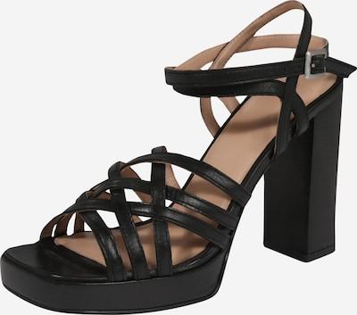 BRONX Sandalen met riem 'New Renee' in de kleur Zwart, Productweergave