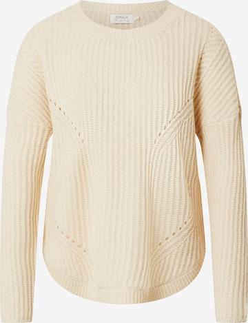 ONLY Sweater 'onlBERNICE' in White