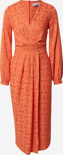 Closet London Robe en orange, Vue avec produit