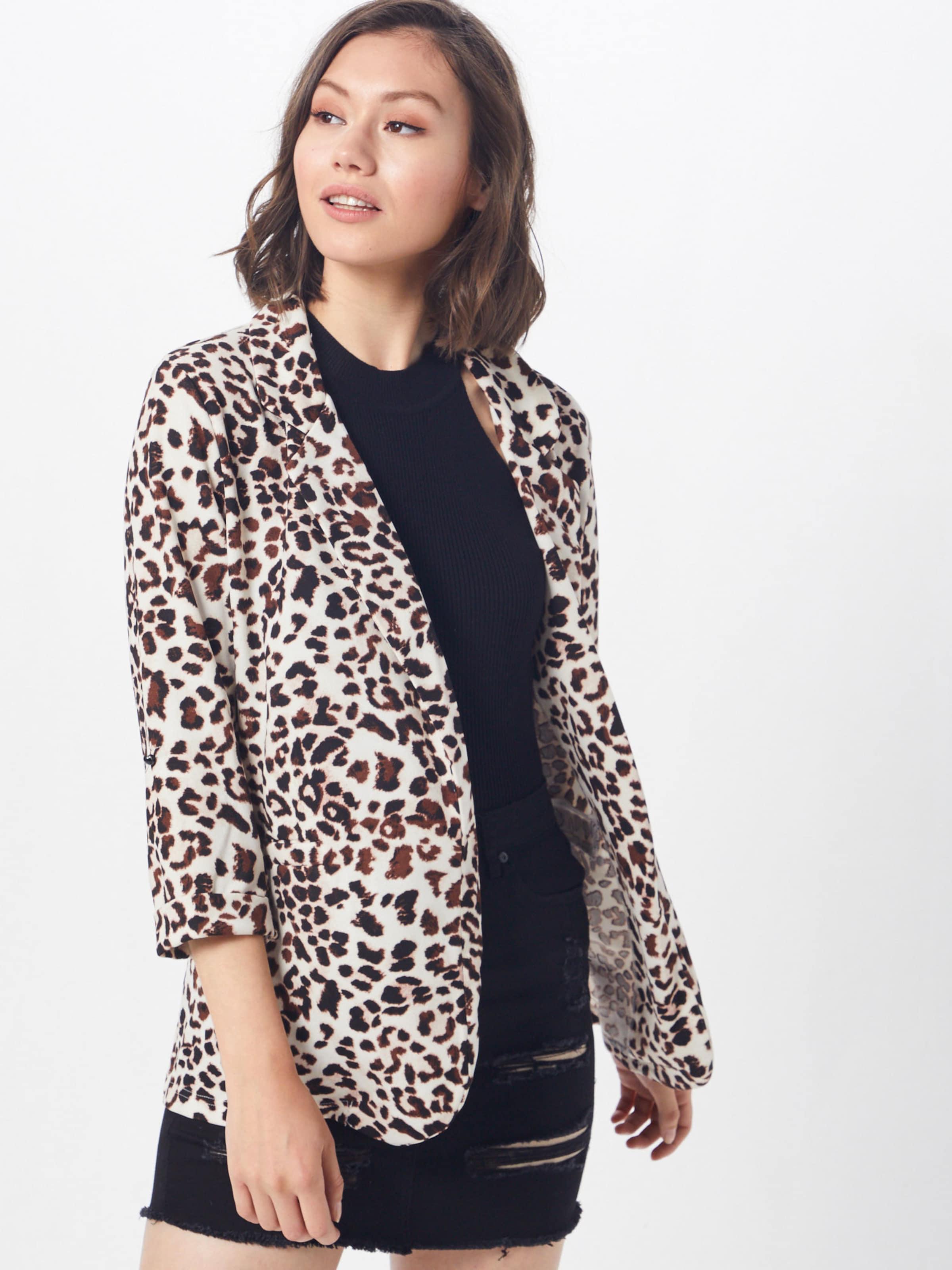 MarronNoir New Blazer Blazer' En 'liv Look Scuba Animal lJcFT1K