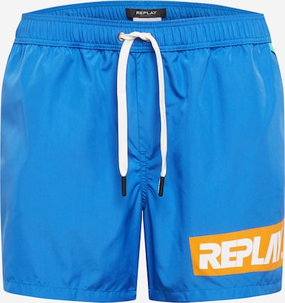 REPLAY Badehose 'Boxer' in blau, Produktansicht