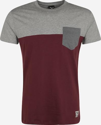 Iriedaily Majica u siva melange / merlot, Pregled proizvoda