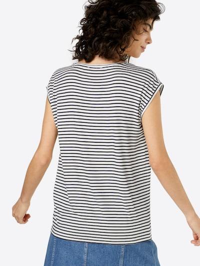PIECES Shirt 'BILLO' in marine: Rückansicht