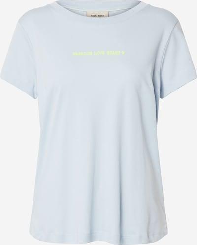 MOS MOSH T-Shirt in hellblau / neongelb, Produktansicht