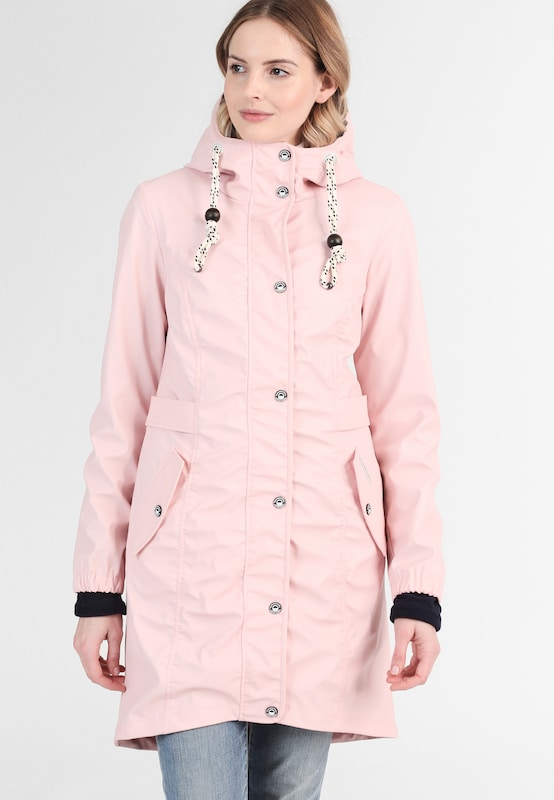 schmuddelwedda damen parka mit herausnehmbarer fleecejacke in pink about you. Black Bedroom Furniture Sets. Home Design Ideas