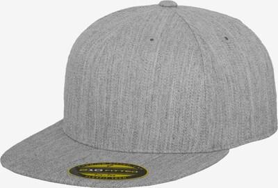 Flexfit Premium 210 Fitted Cap in grau, Produktansicht