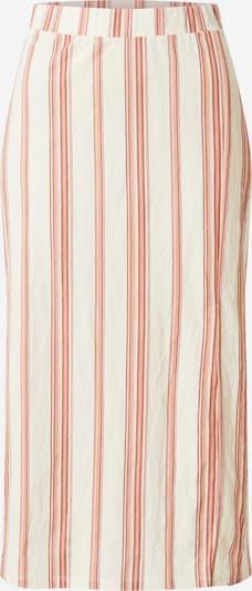 Sijonas 'Elsa' iš Gina Tricot , spalva - smėlio / oranžinė-raudona, Prekių apžvalga